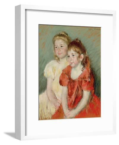 Young Girls, C.1900-Mary Cassatt-Framed Art Print