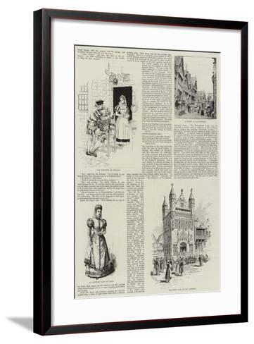 Antwerp International Exposition, 1894-Melton Prior-Framed Art Print