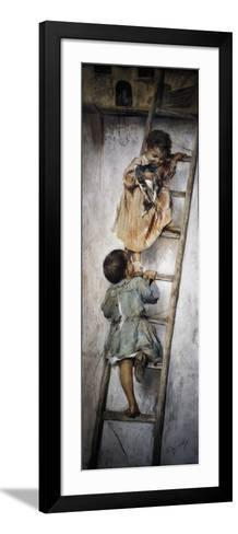 Nest-Nicholas Biondi-Framed Art Print