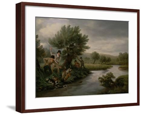 Spearing the Otter, 1805-Philip Reinagle-Framed Art Print