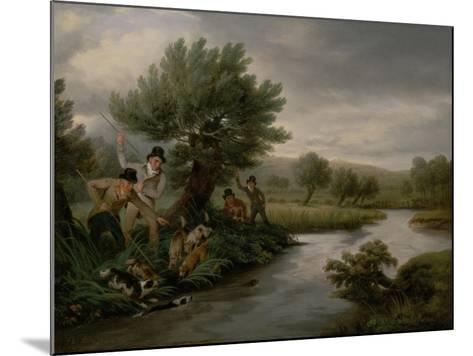 Spearing the Otter, 1805-Philip Reinagle-Mounted Giclee Print