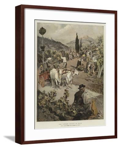 The Vintage Season in Italy-Oswaldo Tofani-Framed Art Print