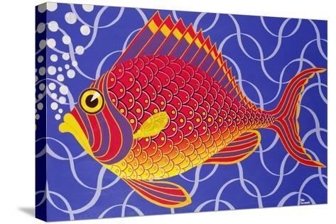 The Goldfish-Peter Szumowski-Stretched Canvas Print