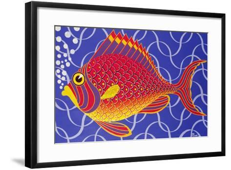 The Goldfish-Peter Szumowski-Framed Art Print
