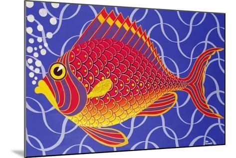 The Goldfish-Peter Szumowski-Mounted Giclee Print