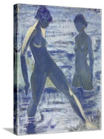 Bathers, C. 1927-Otto Muller-Stretched Canvas Print