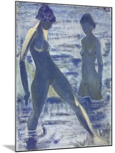 Bathers, C. 1927-Otto Muller-Mounted Giclee Print