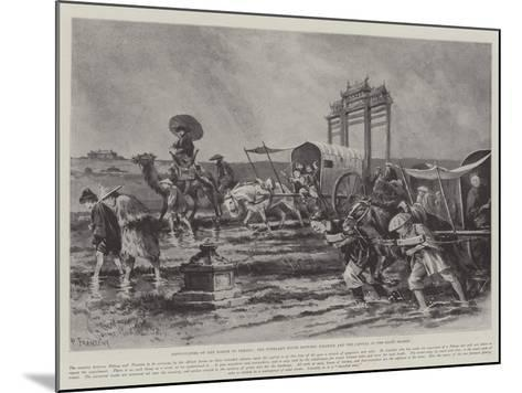 Difficulties of the March to Peking-Paul Frenzeny-Mounted Giclee Print