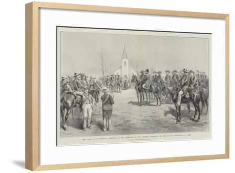 The Crisis in the Transvaal-Paul Frenzeny-Framed Art Print