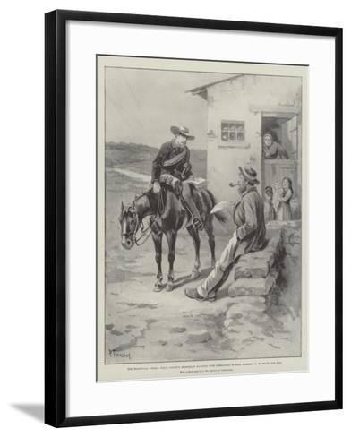 The Transvaal Crisis-Paul Frenzeny-Framed Art Print