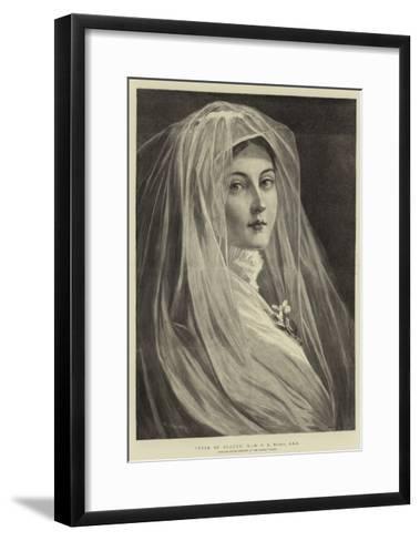 Type of Beauty, X-Philip Richard Morris-Framed Art Print