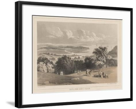Napha from Bamboo Village, Litho by Sarony and Co., 1855-Peter Bernhard Wilhelm Heine-Framed Art Print
