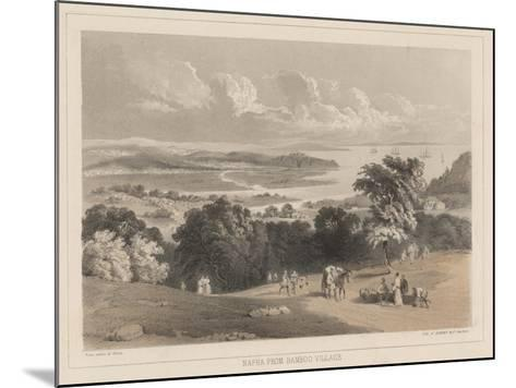 Napha from Bamboo Village, Litho by Sarony and Co., 1855-Peter Bernhard Wilhelm Heine-Mounted Giclee Print