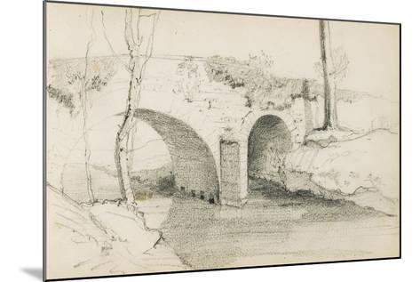 Drawing from an Album Titled 'The Basque Country', 1862-63-Odilon Redon-Mounted Giclee Print