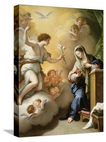 The Annunciation, 1712-Paolo Di Matteis-Stretched Canvas Print