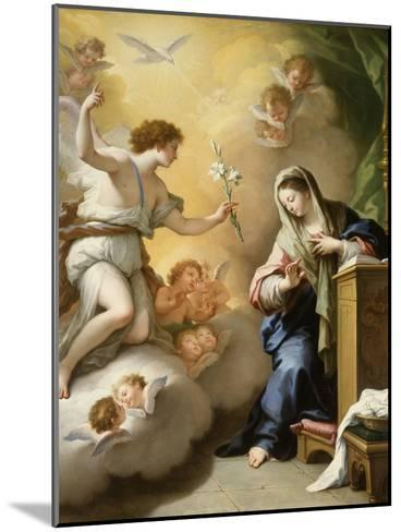 The Annunciation, 1712-Paolo Di Matteis-Mounted Giclee Print