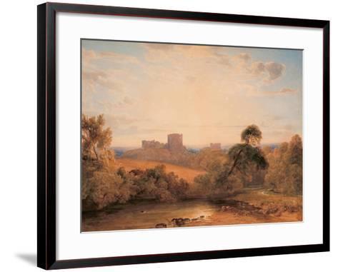 Kenilworth Castle, C.1827-Peter De Wint-Framed Art Print