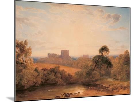 Kenilworth Castle, C.1827-Peter De Wint-Mounted Giclee Print