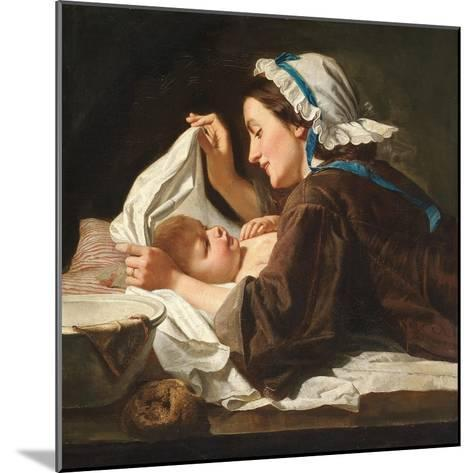 Mother and Child, 1833-Peter Fendi-Mounted Giclee Print