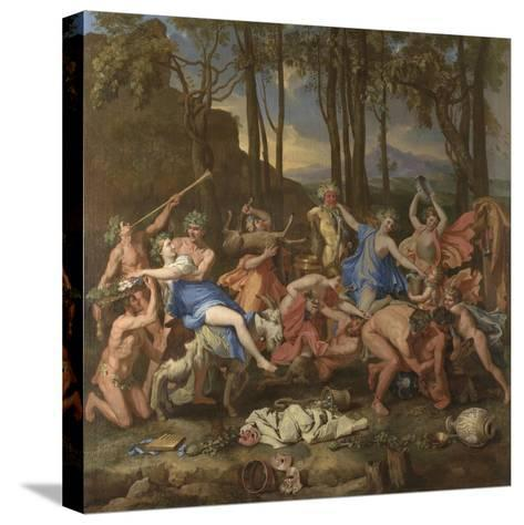The Triumph of Pan, 1636-Nicolas Poussin-Stretched Canvas Print