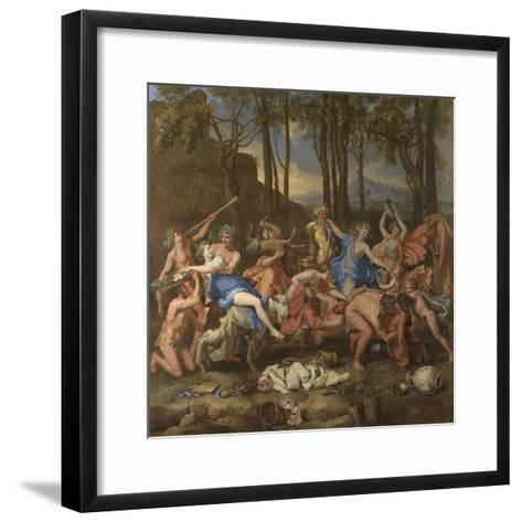 The Triumph of Pan, 1636-Nicolas Poussin-Framed Art Print