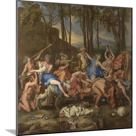 The Triumph of Pan, 1636-Nicolas Poussin-Mounted Giclee Print