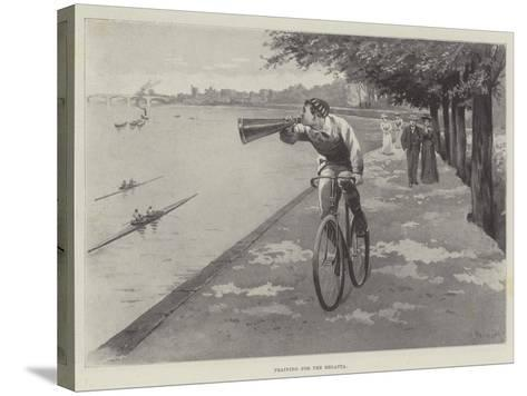 Training for the Regatta-Paul Frenzeny-Stretched Canvas Print