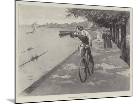 Training for the Regatta-Paul Frenzeny-Mounted Giclee Print