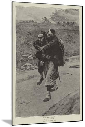 Comrades-Paul Louis Narcisse Grolleron-Mounted Giclee Print