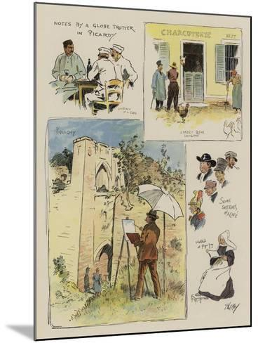 Notes by a Globe Trotter in Picardy-Phil May-Mounted Giclee Print