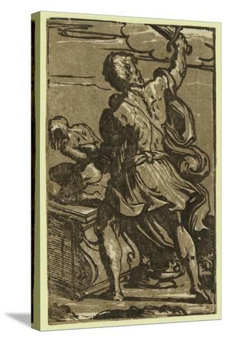 The Sacrifice of Abraham, Between Ca. 1520 and 1700-Parmigianino-Stretched Canvas Print