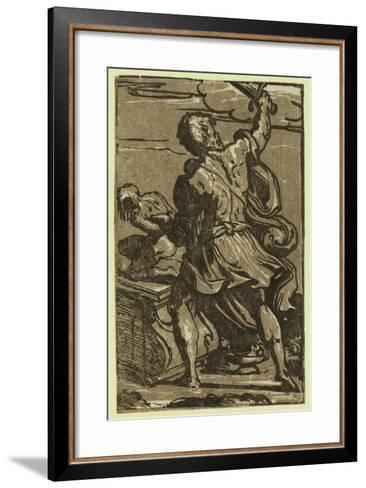The Sacrifice of Abraham, Between Ca. 1520 and 1700-Parmigianino-Framed Art Print