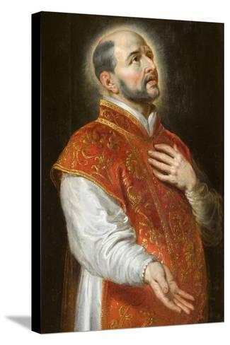 St. Ignatius, C.1600-Peter Paul Rubens-Stretched Canvas Print