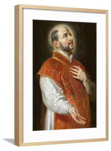 St. Ignatius, C.1600-Peter Paul Rubens-Framed Art Print
