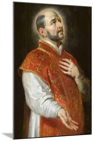 St. Ignatius, C.1600-Peter Paul Rubens-Mounted Giclee Print