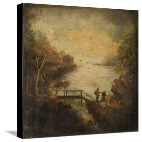 Killarney Castle-Patrick O'Connor-Stretched Canvas Print