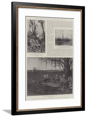 The Spanish-American War-Paul Frenzeny-Framed Art Print