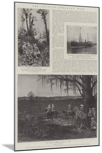 The Spanish-American War-Paul Frenzeny-Mounted Giclee Print