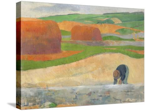 Seaweed Gatherer, 1890-Paul Serusier-Stretched Canvas Print