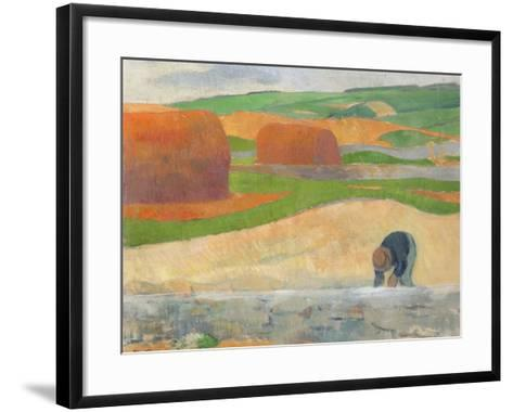 Seaweed Gatherer, 1890-Paul Serusier-Framed Art Print