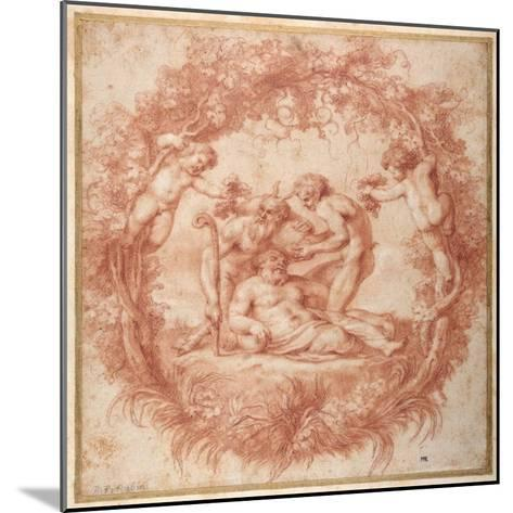 The Design of the Tazza Farnese-Peter Paul Rubens-Mounted Giclee Print