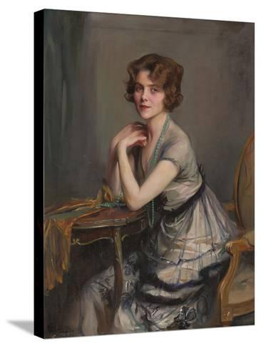 Portrait of Winnie Melville, Mrs, 1920-Philip Alexius De Laszlo-Stretched Canvas Print