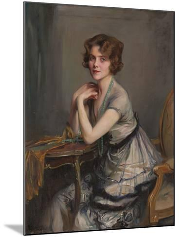 Portrait of Winnie Melville, Mrs, 1920-Philip Alexius De Laszlo-Mounted Giclee Print