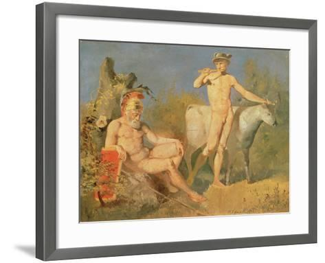 Mercury and Argus, 1862-Nikolai Efimovich Efimov-Framed Art Print