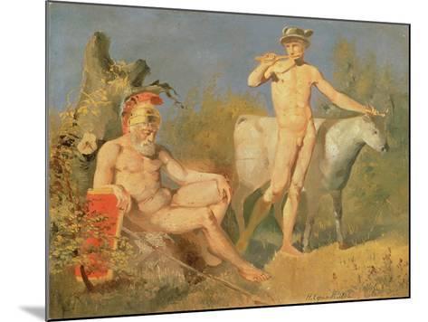 Mercury and Argus, 1862-Nikolai Efimovich Efimov-Mounted Giclee Print