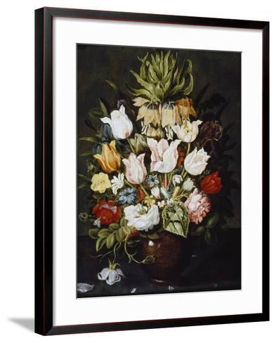 A Vase of Flowers, C. 1616-Osias The Elder Beert-Framed Art Print