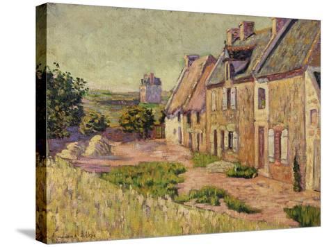 Saint-Briac, Cour a La Ville Hue, 1885-Paul Signac-Stretched Canvas Print