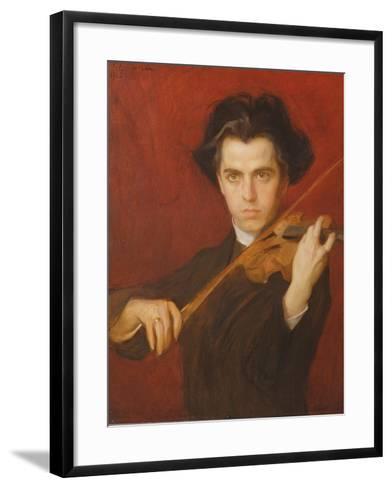 Jan Kubelik (1880-1940), 1903-Philip Alexius De Laszlo-Framed Art Print
