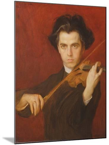 Jan Kubelik (1880-1940), 1903-Philip Alexius De Laszlo-Mounted Giclee Print
