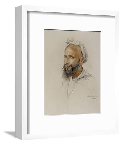 Portrait of an Arab, 1934-Philip Alexius De Laszlo-Framed Art Print